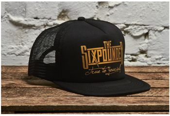 """THE SIXPOUNDER - """"True To Yourself"""" Truckers Hat"""