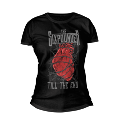 "Damska koszulka THE SIXPOUNDER - ""Till The End"""
