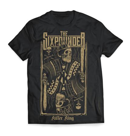 "Koszulka THE SIXPOUNDER - ""Killer King"""